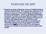 purpose of rfp6