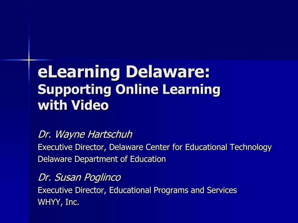 eLearning Delaware: