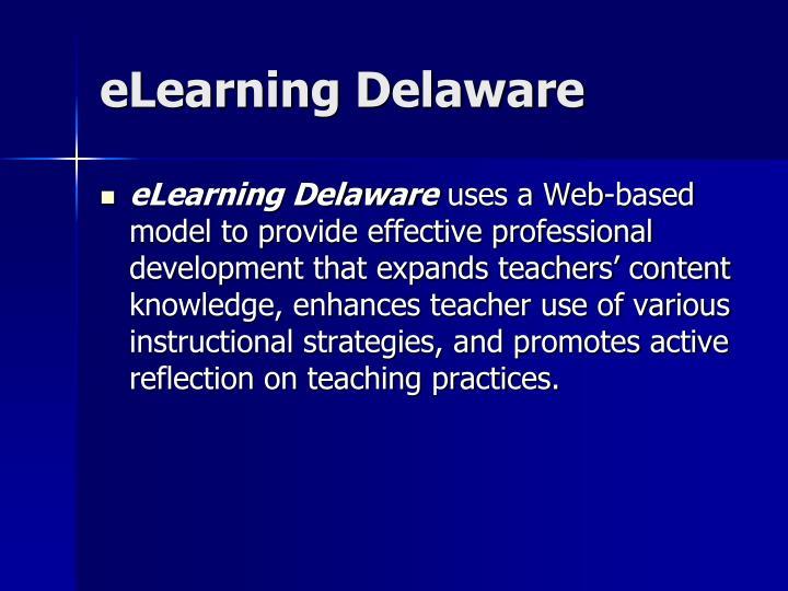 Elearning delaware3