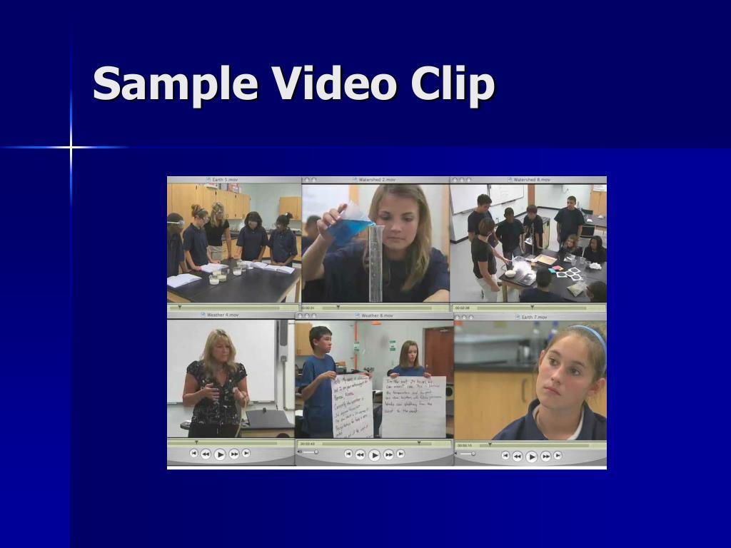 Sample Video Clip