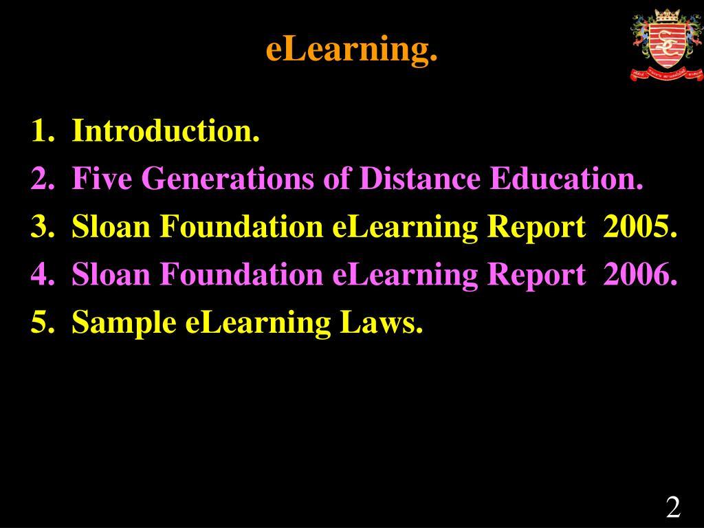 eLearning.