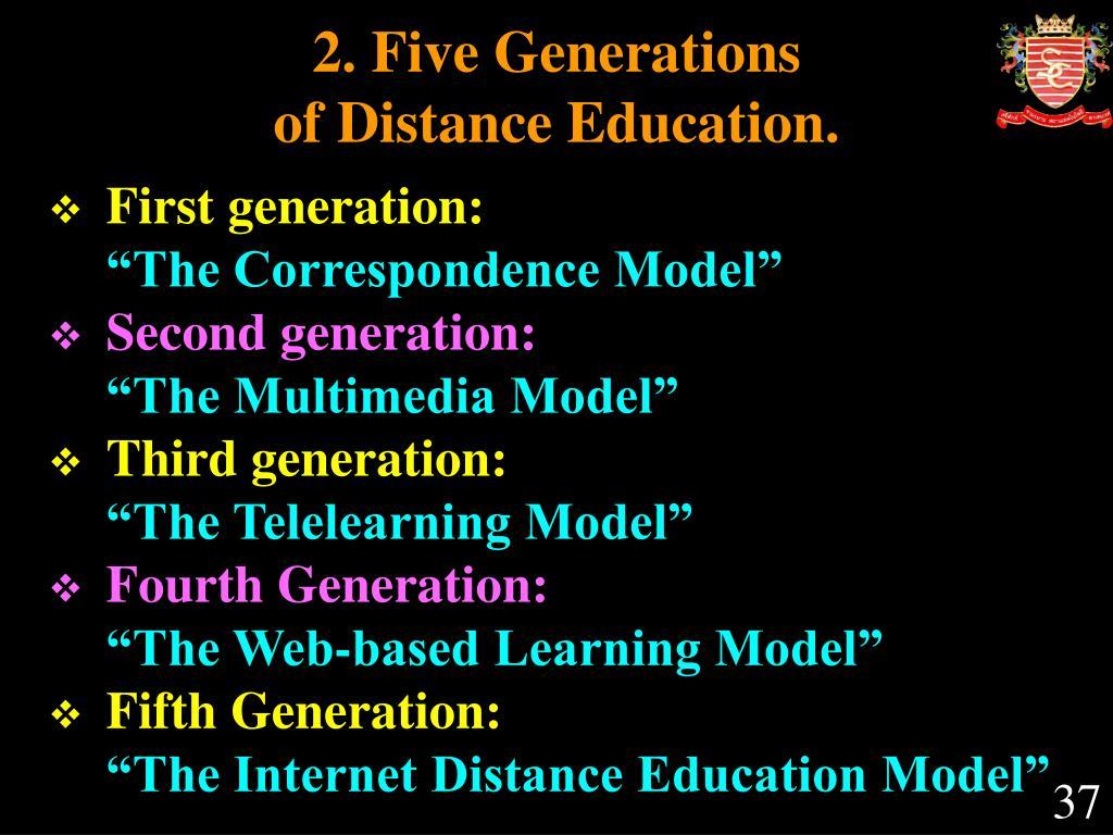 2. Five Generations