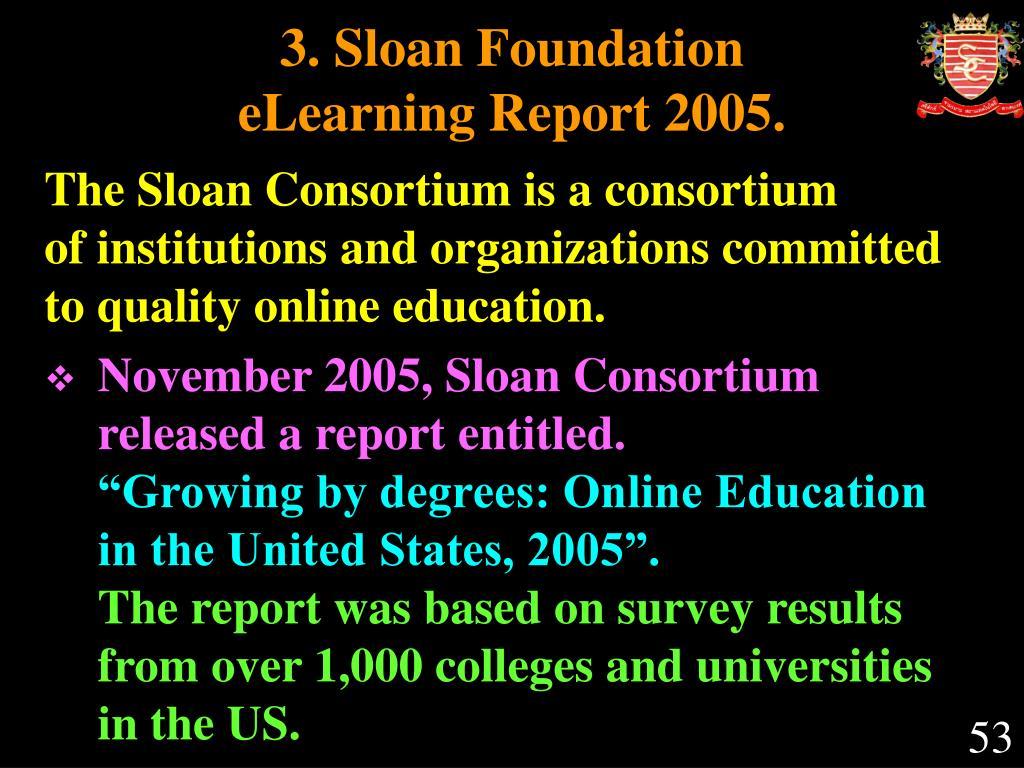 3. Sloan Foundation