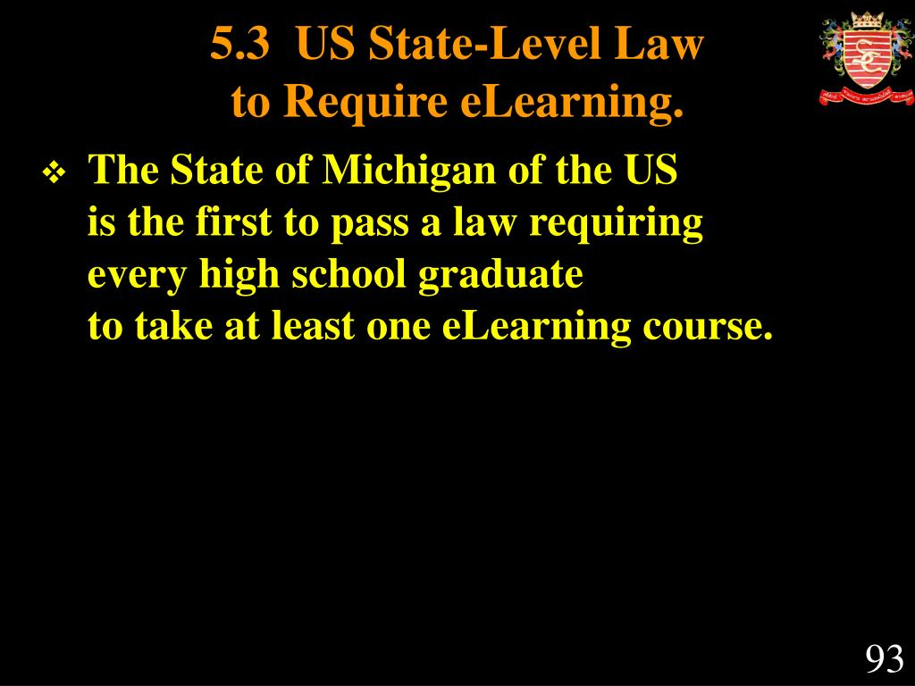 5.3  US State-Level Law