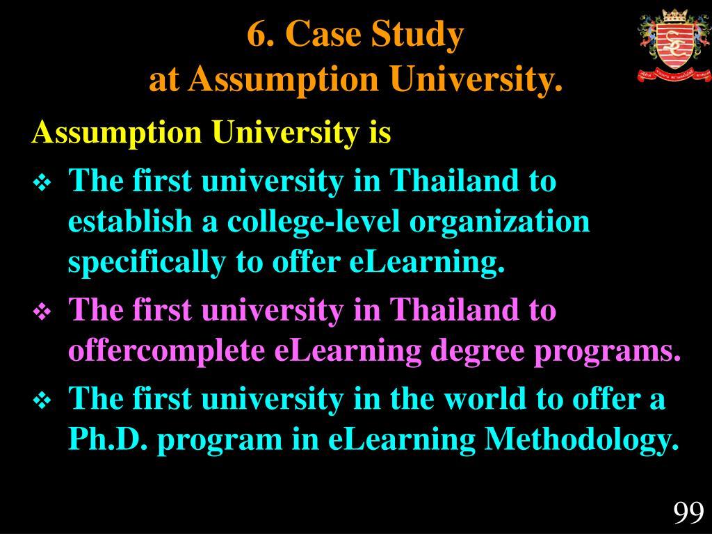 6. Case Study