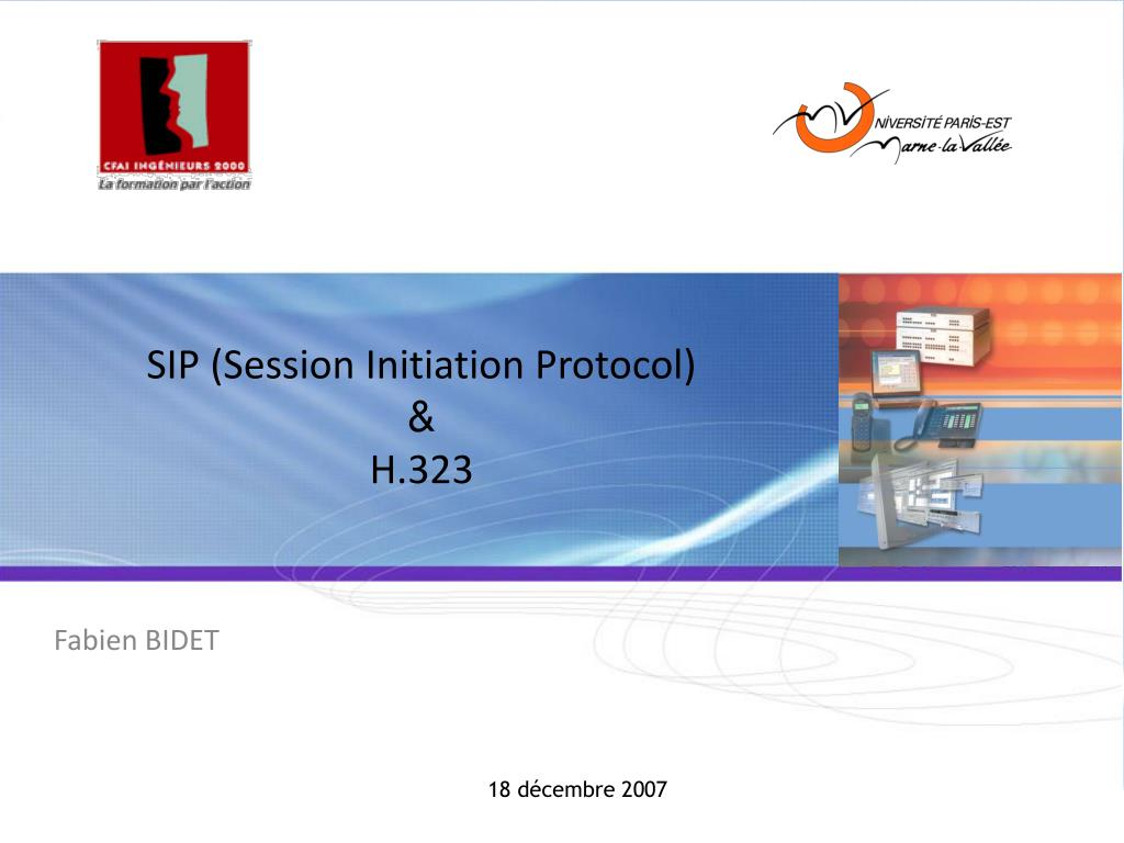sip session initiation protocol h 323 l.