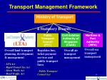 transport management framework
