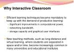 why interactive classroom1