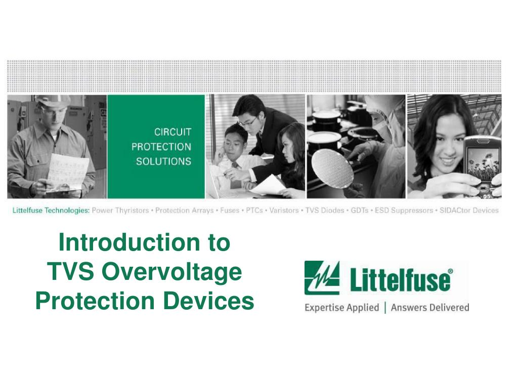 introduction to tvs overvoltage protection devices l.