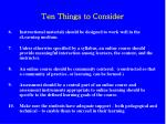 ten things to consider7