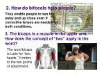 2 how do bifocals help people