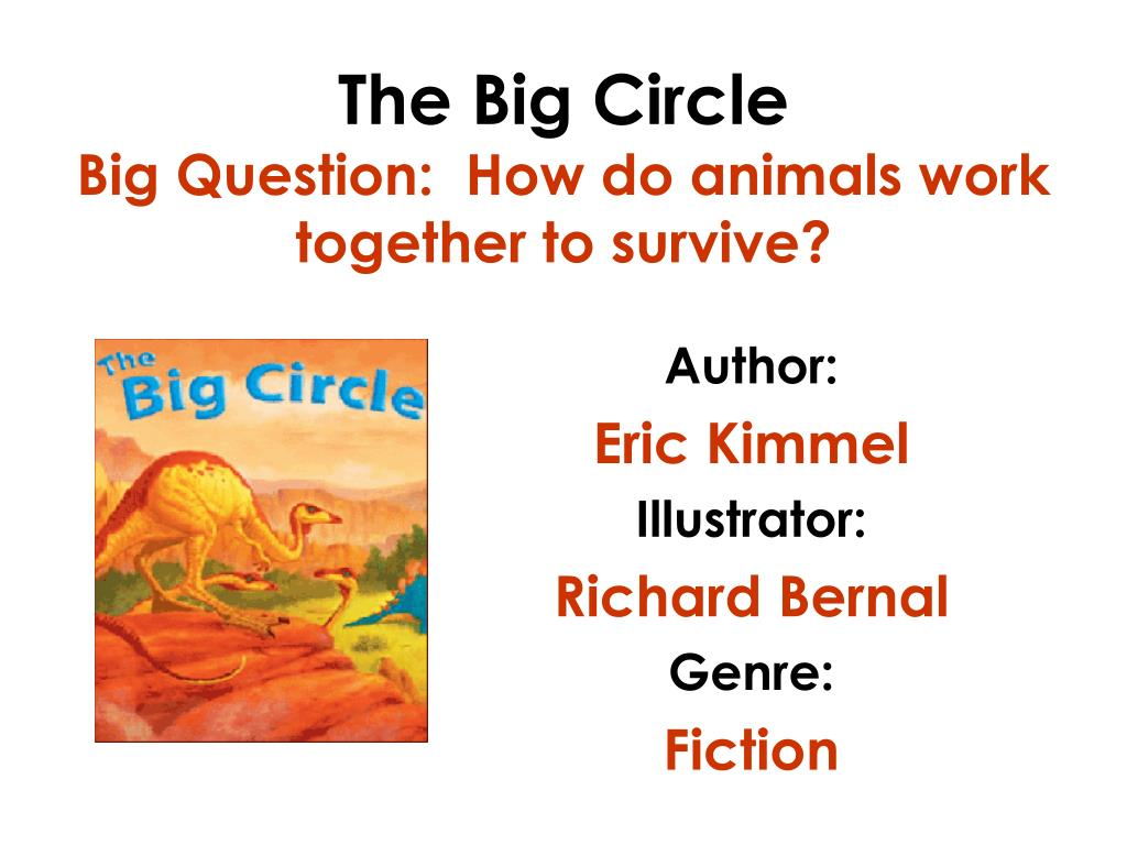 the big circle big question how do animals work together to survive l.