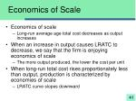 economics of scale