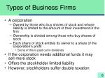 types of business firms1