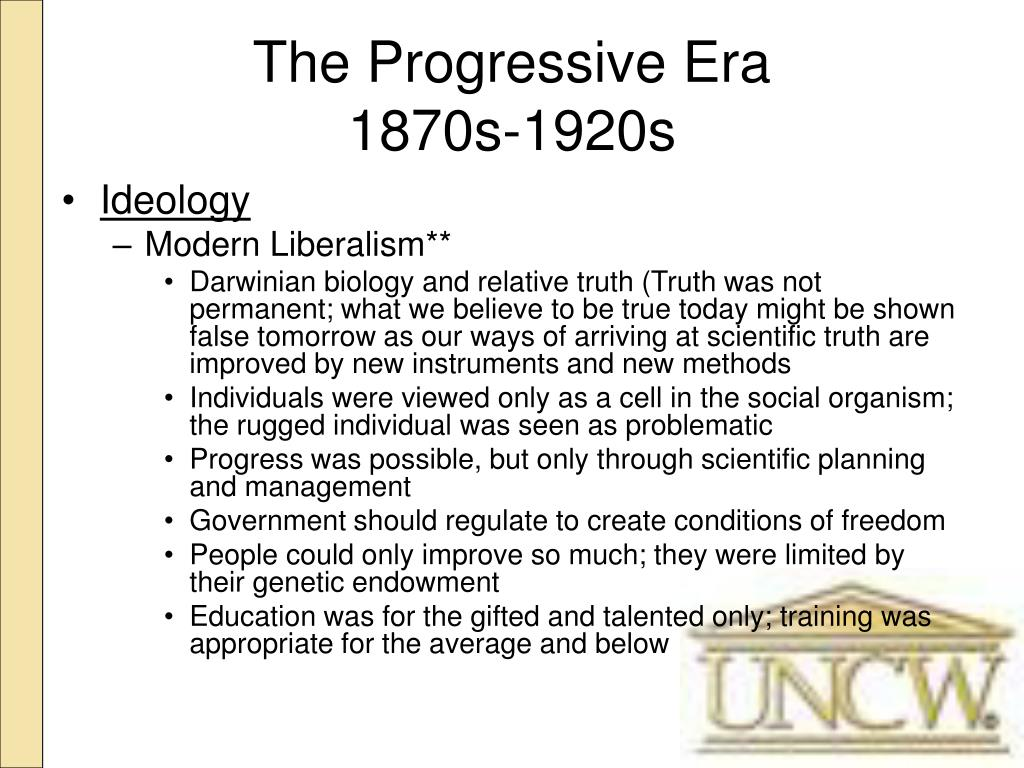 the progressive era and what made