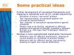 some practical ideas14