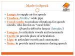 made to speak4