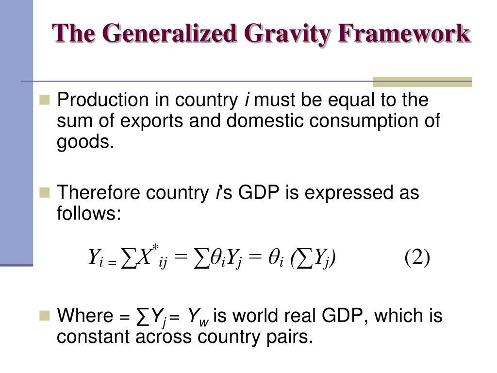 The Generalized Gravity Framework