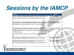 sessions by the iamcp