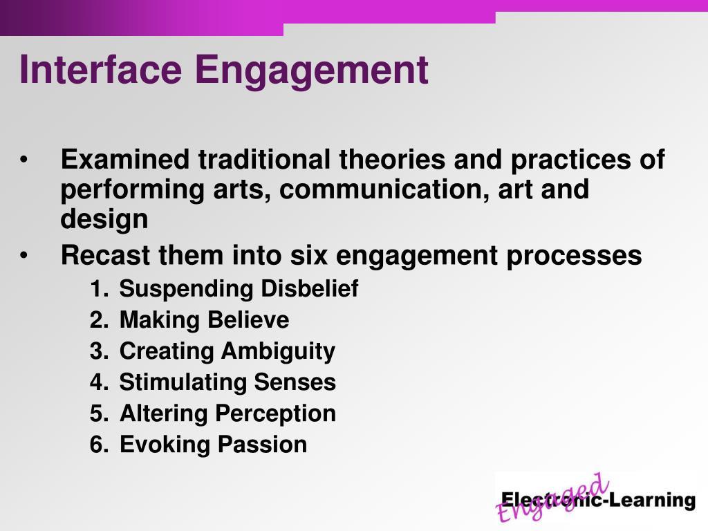 Interface Engagement