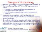 emergence of elearning 1
