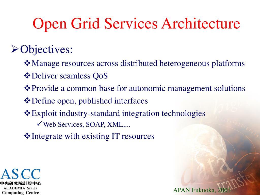 Open Grid Services Architecture