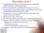 what grid can do