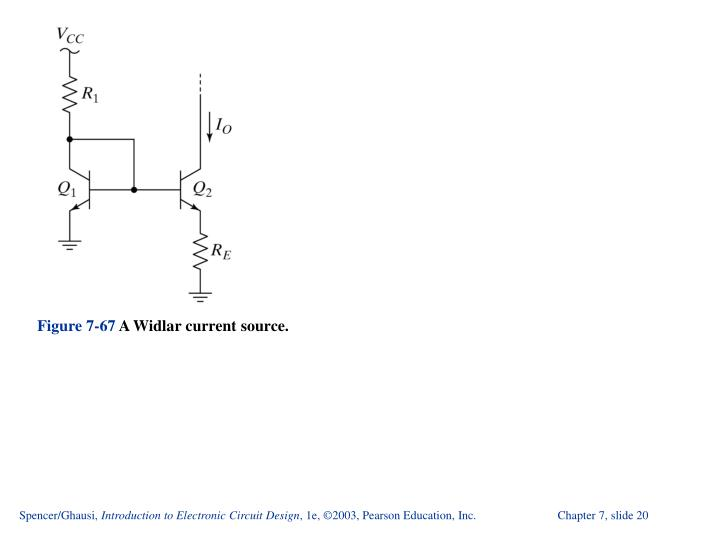 ppt introduction to electronic circuit design powerpointspencer ghausi, introduction to electronic circuit design, 1e, ©2003, pearson education, inc chapter 7, slide 20