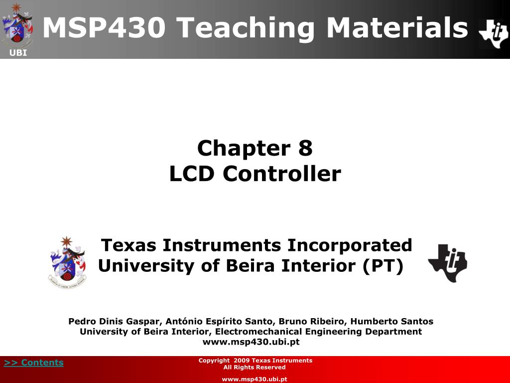 chapter 8 lcd controller l.