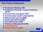 plant centric components