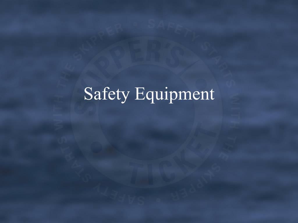 safety equipment l.