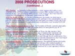 2008 prosecutions continued27