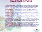 2008 prosecutions