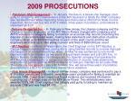 2009 prosecutions
