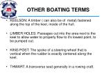 other boating terms