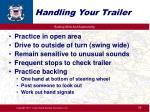 handling your trailer