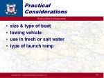 practical considerations1
