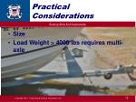 practical considerations3