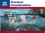 practical considerations5