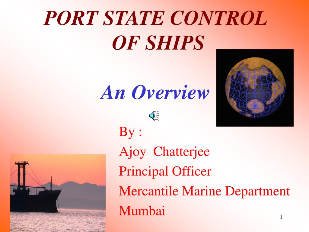 port state control of ships an overview l.