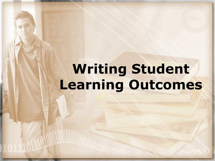 writing student learning outcomes n.