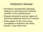 hookworm disease