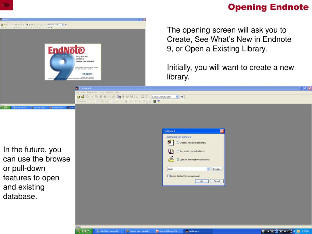 Opening Endnote