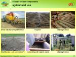 agricultural use