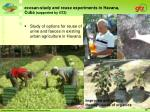 ecosan study and reuse experiments in havana cuba supported by gtz