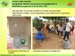 integrated natural ressources management in botswana supported by iucn ded gtz