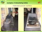 prefabricated dry ud toilet south africa