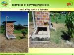 solar drying toilet in el salvador