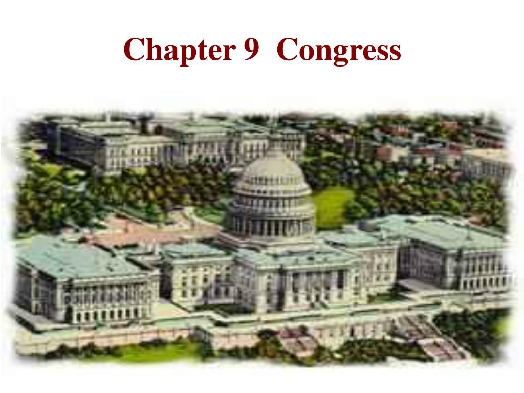 chapter 9 congress l.