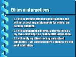 ethics and practices20
